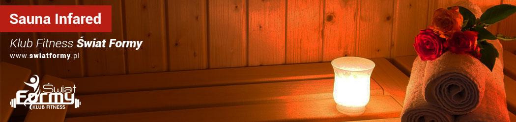 Sauna Infared Klub Świat Formy w Stalowej Woli